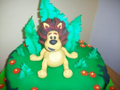 Raa Raa Lion Cake