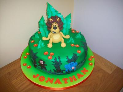 Raa Raa Lion Birthday Cake