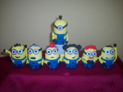 Minnions Cake Toppers
