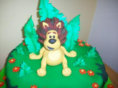 Raa Raa Lion Cake Topper