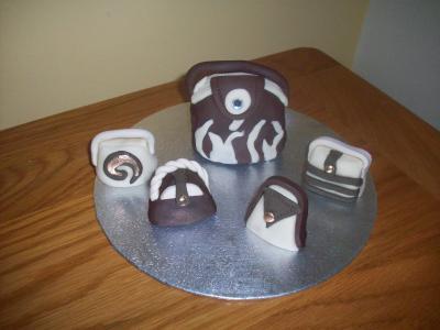Handbags Cake Topper