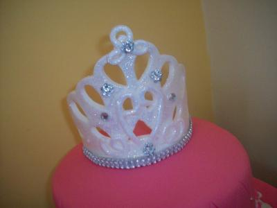 Princess Tiara Cake Topper