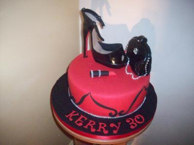 Shoe Handbag Cake