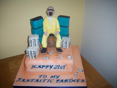 Breaking Bad Cake