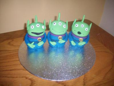Toy Story Aliens Cake Topper