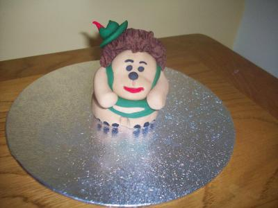 Mr Pricklepants Toy Story Cake Topper