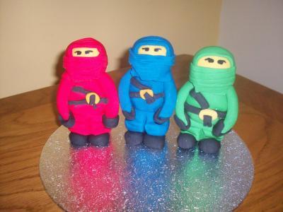 Ninja Turtles Cake Topper
