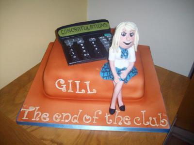 Exams Graduation Cake