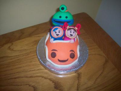Umizoomi Car Cake Topper