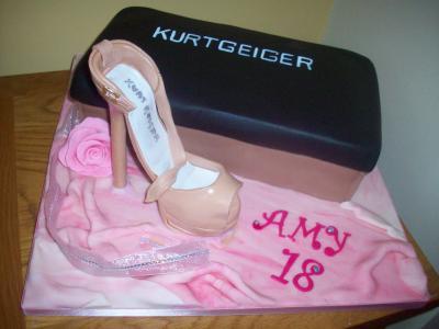 Kurtgeiger Shoe Box Cake