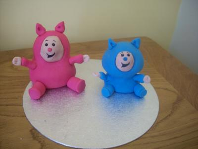 Billy and Bam Bam Cake Topper