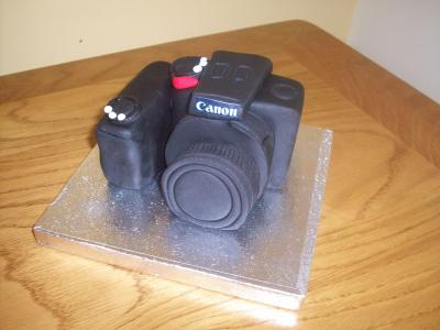 Canon Camera Cake Topper