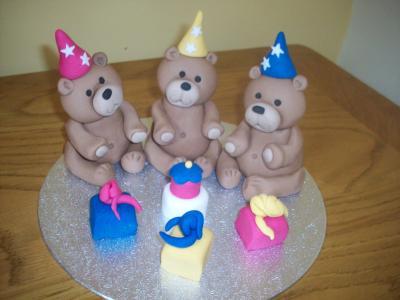 Teddy Bears Picnic Cake Topper