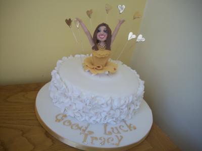 Celebration Lady Explosion Cake