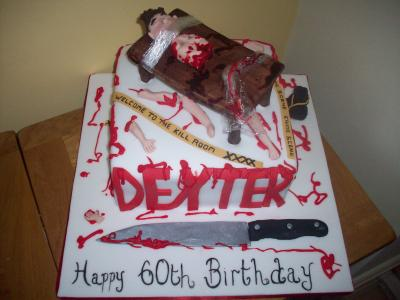 Dexter Novelty Cake