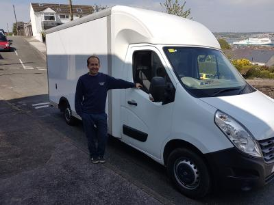 Mike Smith and our new Van