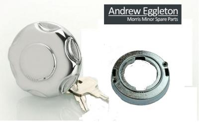 CHROME LOCKING FUEL CAP