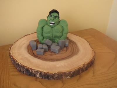 Incredible Hulk Cake Topper