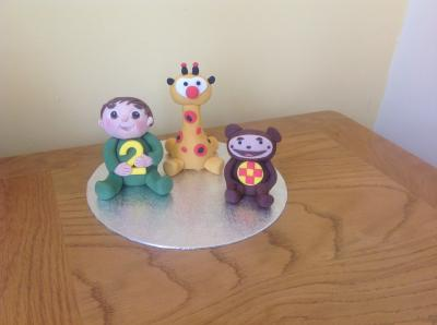 Baby TV Cake Toppers