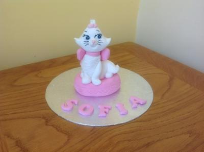 Aristocat Cake Topper