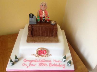 Lady Bar Pub Cake