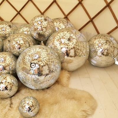 Wedding Yurts Props - Mirror Balls