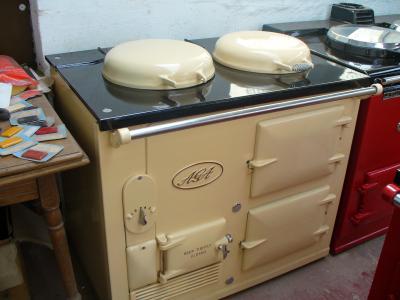 2 oven STD AGA