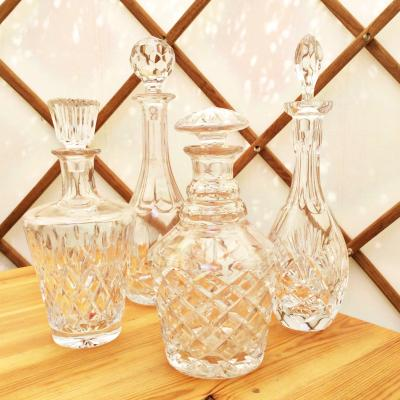 Wedding Yurts Props - Glass Decanters