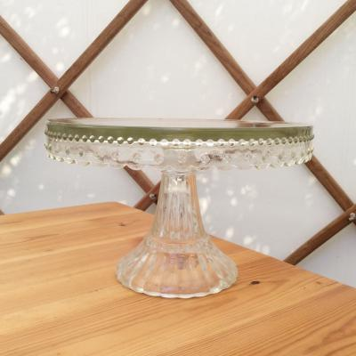 Wedding Yurts Props - Glass Cake Stand