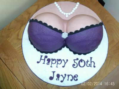 Birthday Boobs Cake