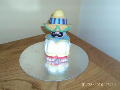 Mexican Man Cake Topper