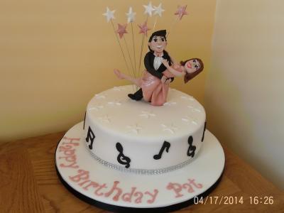 Blackpool Ballroom Dancing Cake