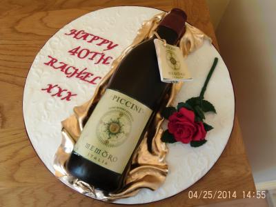 Piccini Memoro Red Wine Cake