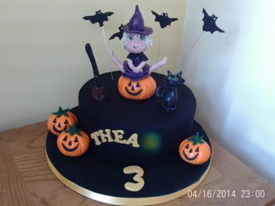 Happy Witch Birthday Cake