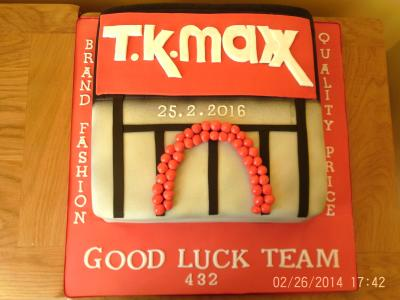 TK Maxx Celebration Team Cake