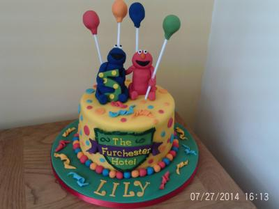 Furchester Hotel Birthday Cake
