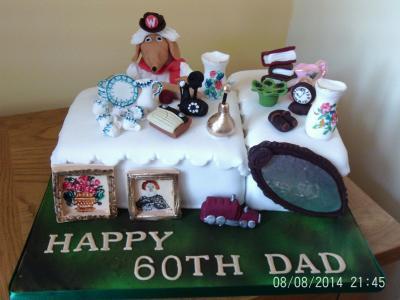 Womble Cake