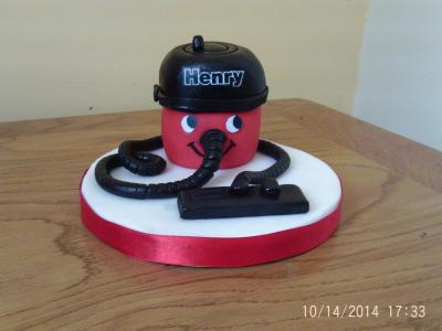 Henry Hoover Edible Cake Topper