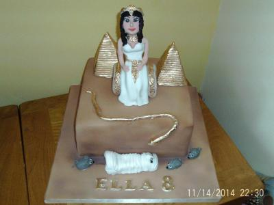 Horrible Histories Cleopatra Cake