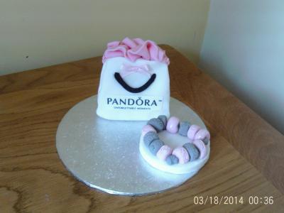 Gift Set Cake Topper