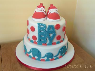 Converse Sneakers Baby Cake