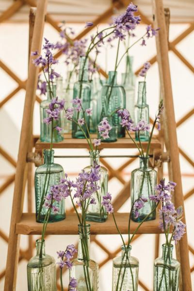 Wedding Yurts Props - Wooden Ladder