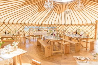 32 ft Luxury Wedding Yurt