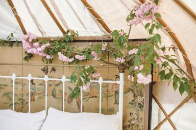Springtime Honeymoon Yurt
