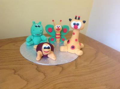 Baby TV Characters Cake Toppers
