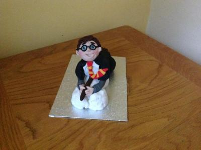 Harry Potter Flying Cake Topper
