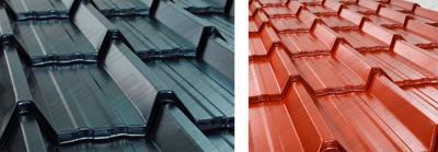Tile Effect Roofing Sheet