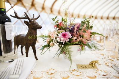 Wedding Yurts Styling