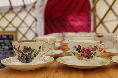 Wedding Yurts Props - Vintage China