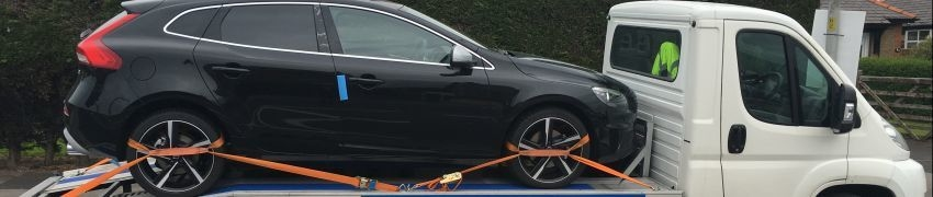 Car Delivery Volvo v40 from Coventry to Lytham